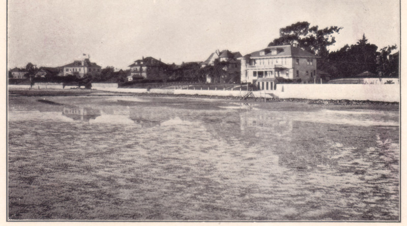Old picture of South Shore Alameda