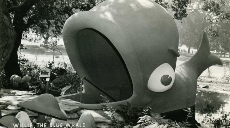Children's Fairyland, Oakland, California, Willie The Blue Whale