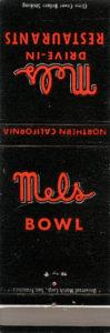Mels Alameda Bowl, 300 Park St., Alameda, California