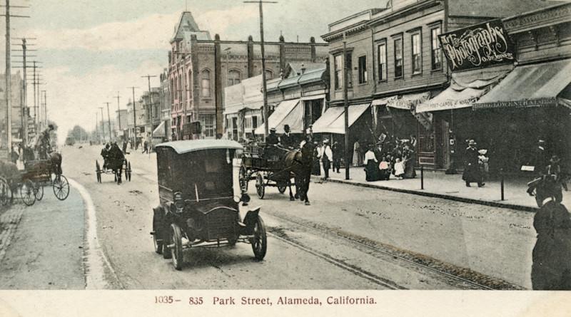 Park Street Alameda, California