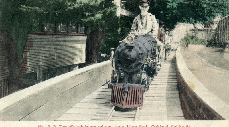 Idora Park, Oakland, California, Miniature Train