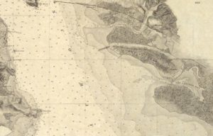 Map Showing Alameda, California, U. S. Coast Survey, 1859 - 01