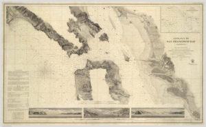 Map Showing Alameda, California, U. S. Coast Survey, 1859 - 03
