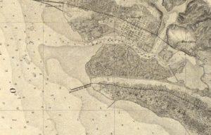 Map Showing Alameda, California, U. S. Coast Survey, 1859 - 04