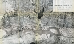 Mosaic composed of Aerial Photographs, Oakland and Alameda, Cal., 1924