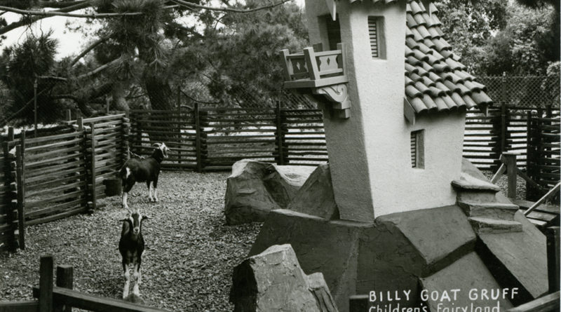 Billy Goat Gruff, Children's Fairyland, Oakland, California