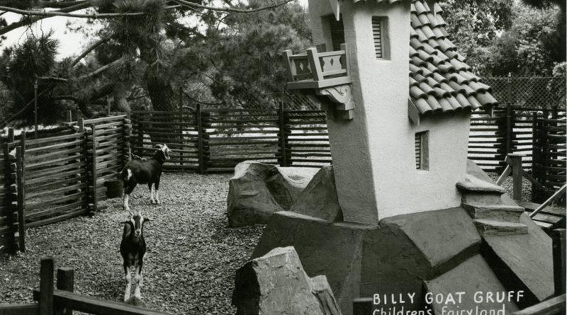 Billy Goat Gruff, Children's Fairyland, Oakland, California