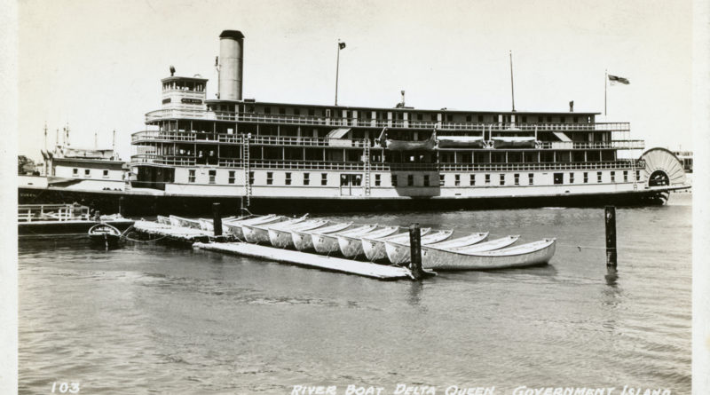 River Boat Delta Queen, Government Island, Alameda, California, 1942