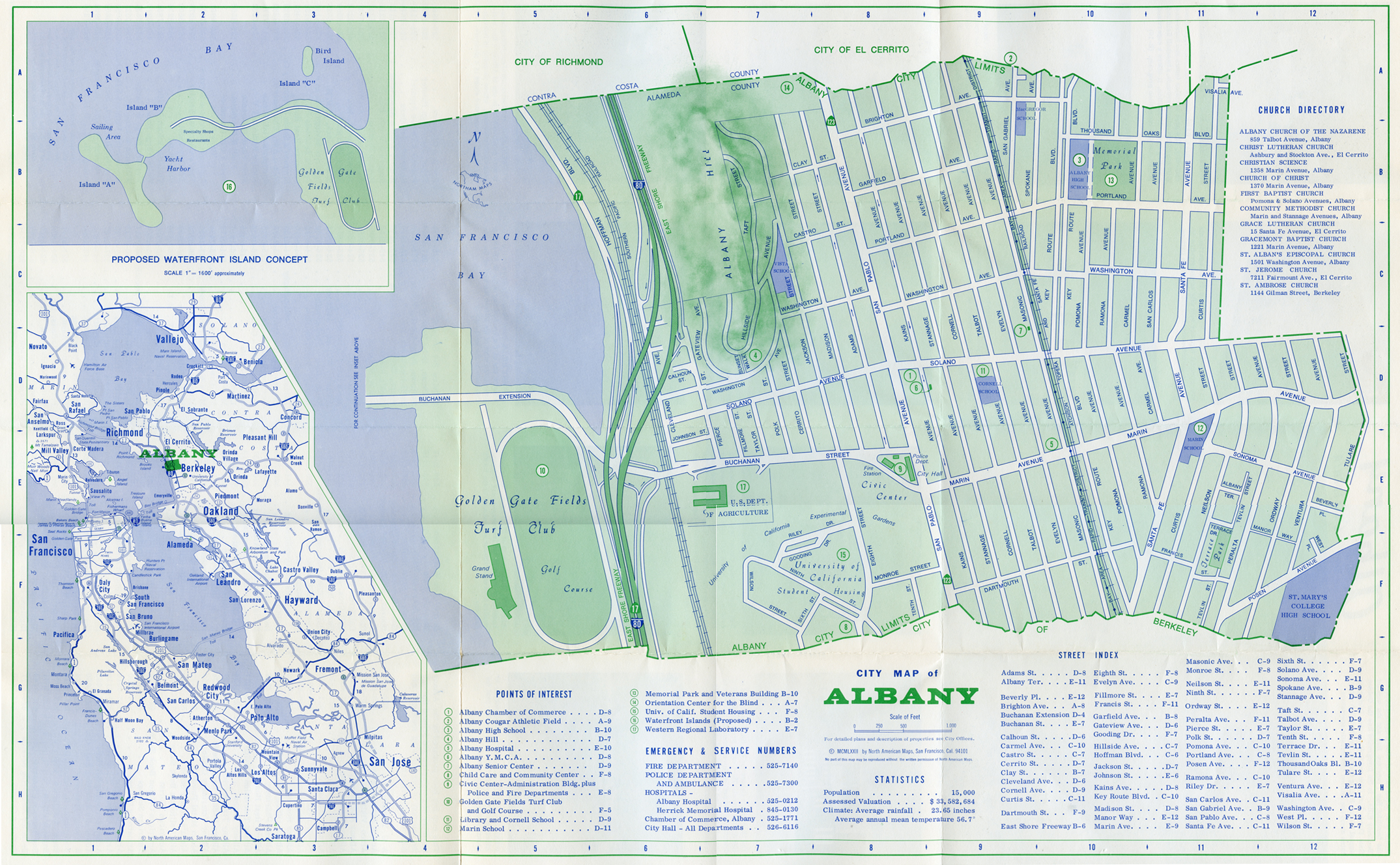 Albany, California, old postcards and other historic images ...