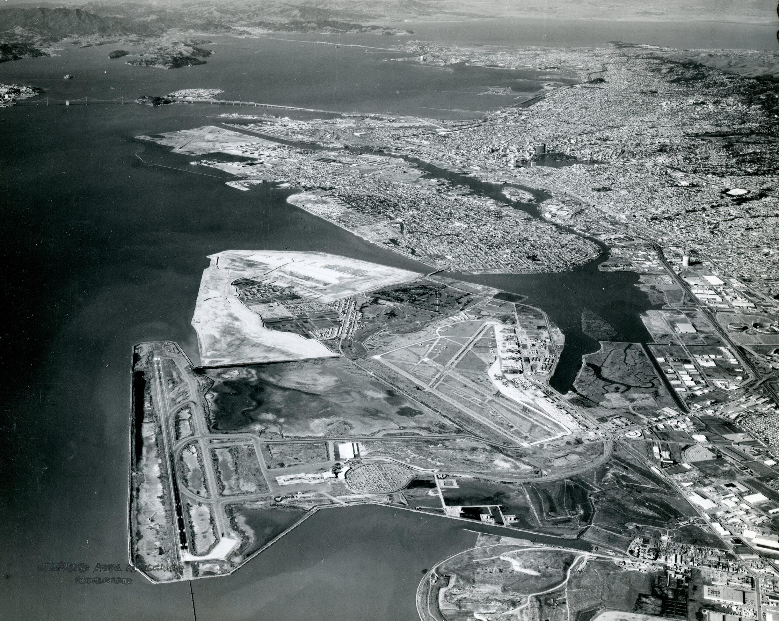 Alameda, Bay Farm Island, Oakland Airport, Dec. 26, 1969