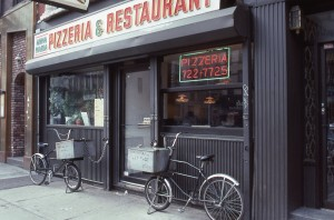 Anna Maria Pizzeria, 1685 1st Ave., between E. 87th St. and E. 88th St., NYC, 1989