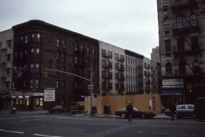 2nd Ave. and E. 90th St., NYC, April 1985