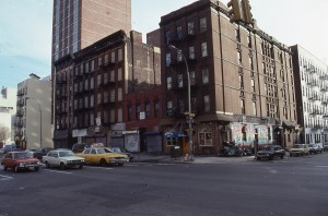 2nd Ave. and E. 95th St., NYC, Feb. 1989
