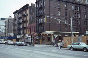 E. 95th St. and 2nd Ave., NYC, April 1985