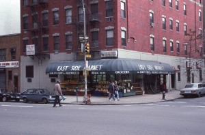 East Side Market at 2nd Ave and E. 92nd Street, Jan. 1989