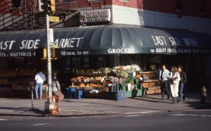 East Side Market at 2nd Ave. and E. 92nd St., NYC, Jan. 1989