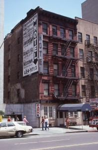 American Hotel, 331 E. E. 86th Street, between 1st and 2nd Ave., NYC, July 1985