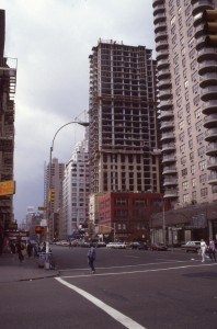 E. 86th St. and 3rd Ave. looking south, April 1985