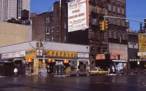 E. 86th St. and 3rd Ave., NYC, Feb. 1985