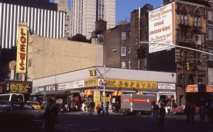 E. 86th St. and 3rd Ave., NYC, Jan. 1985