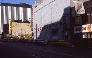 E. 86th St. showing corner of 3rd Ave., Jan. 1985