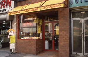 La Croissanterie, E. 86th St., between 2nd Ave. and 3rd Ave., NYC, January 1989