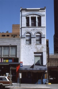 Little Finland, 247 E. 86th Street, NYC, April 1986
