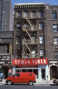 Tower Video, E. 86th Street between 2nd Ave. and 3rd Ave., NYC, April 1986