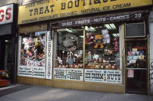 Treat Boutique, E. 86th St., NYC, January 1989