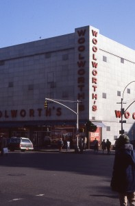 Woolworth's at E. 86th St and 3rd Ave., NYC, January 1985