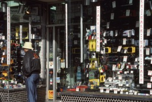 Yorkville East Cameras and Electronics, 173 E. 86th St., NYC, Jan. 1989