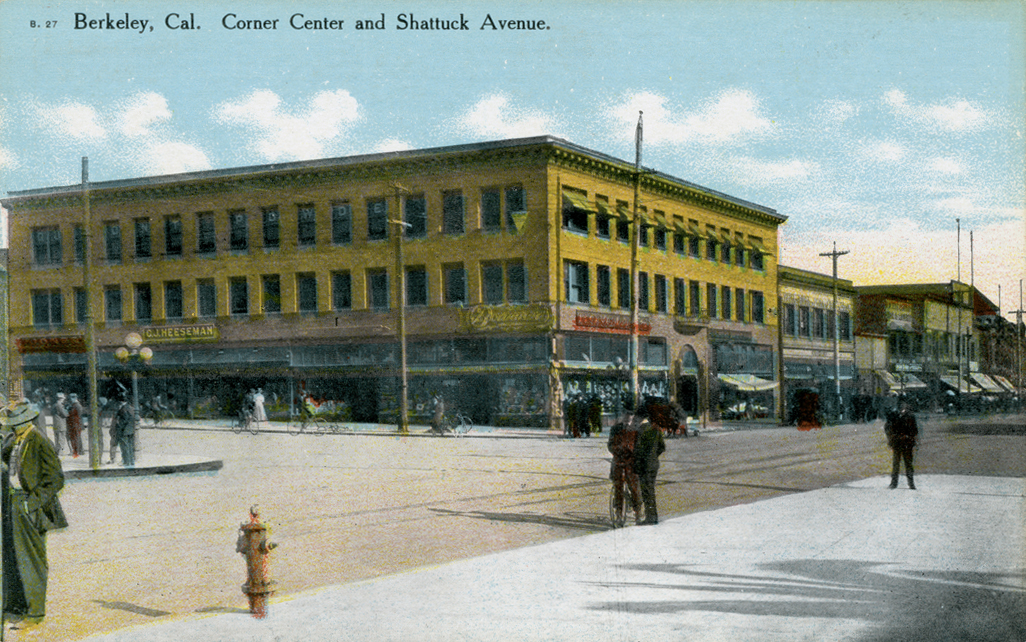 Motels In San Jose Ca >> Berkeley, California, old postcards, photos and other historic images - Alamedainfo