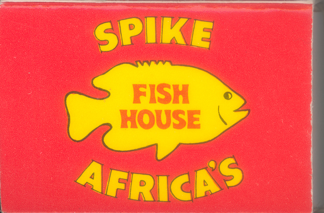 Alameda california restaurants and bars old postcards for Spikes fish house