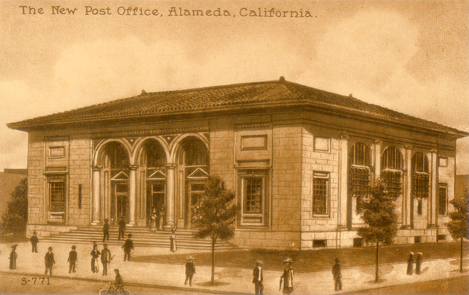 Alameda California City Hall Library Hospital And Other