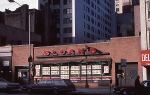 SLOAN'S Super Market on York Ave, between E. 86th and E. 87th St., NYC, January 1985