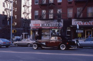 Tower Delicatessen, E. 88th St. and York Ave., NYC, Jan. 1985