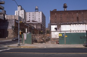 York Ave and E. 90th Street, August 1985