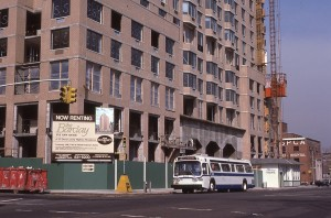 York Ave. betwen E. 91st and E. 92nd St., NYC, Now Renting, The Barclay, February 1985