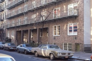 530 E. 89th St., NYC, January 1981