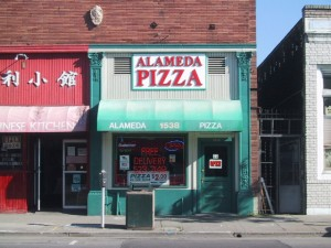 Alameda Pizza, 1538 Webster St., Alameda, California