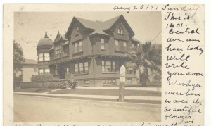 1601 Central Ave., Alameda, California mailed 1907