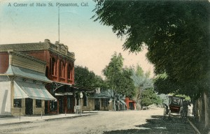 A Corner of Main St., Pleasanton, California