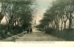 A Roadway from the Bay Shore, Alameda, California
