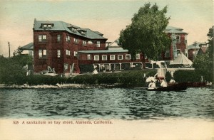 A sanitarium on bay shore, Alameda, California