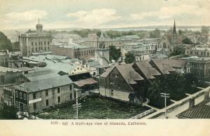 A Bird's-eye view of Alameda, California
