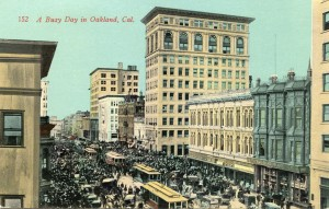 A Busy Day in Oakland, Cal.