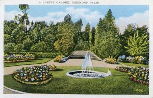 A Pretty Garden, Piedmont, California