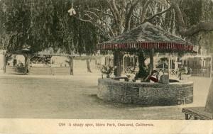 A Shady Spot, Idora Park, Oakland, California