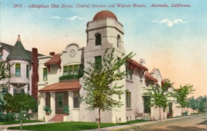 Adelphian Club House, Central Ave and Walnut Streets Alameda, California
