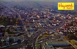 Aerial View of Hayward, California